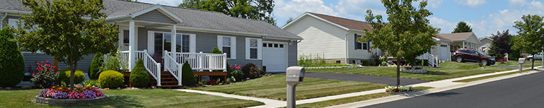 UMH Properties Inc., UMH manufactured home