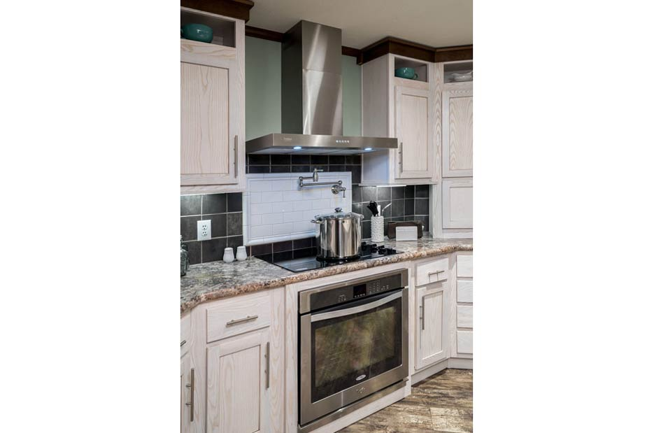 The porter gray model home umh manufactured home sales for Kitchen design 47905