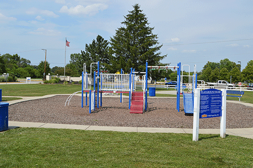 playground at UMH land lease communities